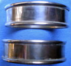 Pair Of Gorham Sterling Silver Napkin Rings #6290