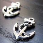 Boat Anchor Wholesale Ocean Nautical Charm Pendants C1526 - 20 50 Or 100pcs