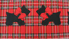 6+Y Scotty Dog Plaid Border Patty Reed Fabric Traditions Scottish Terrier