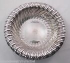 Gorham Cartier A40622 Sterling Silver Fluted Swirl Bowl Dish w/ Mono 10