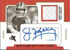 2004 Fleer E X Jim Kelly Auto Game Used Jsy Relic 23 Gold Signing Of The Times