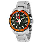 Certina DS Action Quartz Chronograph Black Dial Stainless Steel Mens Watch