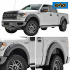 09-14 Ford F150 4PC Paintable Pocket Rivet Style Wheel Fender Flares Left+Right