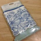 NEW Waverly Garden Toile Blue Floral Wall Paper Border 15 Foot Sealed NIP