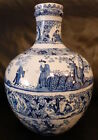 White Delft Jug de klaauw/the claw. Old delftware chinese scenes