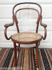 MUNDUS THONET Bentwood CANED SEAT ARMCHAIR Orig LABEL Made in Poland Exc. Cond.