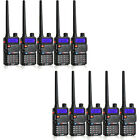10pcs UV-985 2-way Radio UHF+VHF Dual Band/standby 8W 128CH DTMF Walkie Talkie