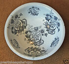 Antique 1880's EDGE MALKIN & CO Black & White Transferware Wash Basin Bowl