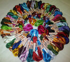 50 Skeins Large Silk Stranded Embroidery Skeins Threads 50 different Colours