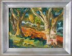 Original Vintage Signed Victor Higgins Santa Fe Taos Oil Painting New Mexico