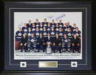 Toronto Maple Leafs 1967 16x20 signed by Bower Kelly Shack frame
