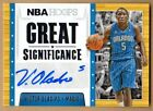 2014-15 HOOPS GREAT SIGNIFICANCE #49 VICTOR OLADIPO MAGIC GUARD AUTOGRAPH