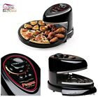 Pizza Oven Electric Rotating Tray Heating Removable Nonstick Baking Pan Kitchen