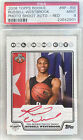 2008-09 Topps Rookie Photo Shoot Russell Westbrook Auto RC PSA 9 Red Ink SSP