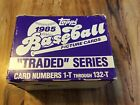 1985 TOPPS TRADED SERIES COMPLETE SET