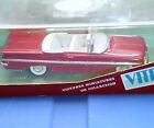 █▓▒VITESSE RED/WHT 1959 IMPALA CHEVY OPEN CABRIOLET CONVERTIBLE 1/43 SCALE CHEVY