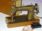 VINTAGE NEW HOME SEWING MACHINE LIGHT-RUNNING MODEL NHR 1940s CASE PEDAL MANUAL