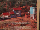 ho scale by Dura Craft RAILROAD DEPOT & WATER TOWER DW980