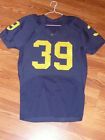 MICHIGAN Wolverines Game Used Nike Jersey 39 U of M University of