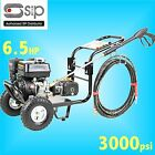 SIP 08926 6.5hp 3000psi Petrol Jet Pressure Washer farm yard truck bus cleaner