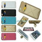 Shockproof Hybrid Magnet Folder Wallet Credit Card Slot Case For Iphone 6s NOTE4