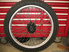 1984 XR500 R FRONT WHEEL 80% TIRE 21 X 1.60 RIM HONDA XR 500 83-84 XL 350 600