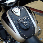 S) HONDA VALKYRIE F6C GL 1500 C LEATHER TANK Cover Pad Panel Bib Chap Bra
