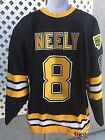 CAM NEELY BOSTON BRUINS AUTHENTIC CCM AIR-KNIT HOCKEY JERSEY SIZE 52