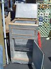 Vintage / antique zinc skinned wooden ice box. Early 20th century.