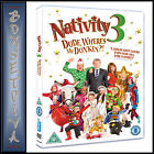 NATIVITY 3 DUDE WHERES MY DONKEY BRAND NEW DVD