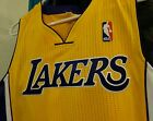 LOS ANGELES LAKERS REVOLUTION 30 AUTHENTIC JERSEY SIZE MEDIUM