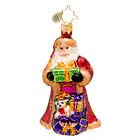 Christopher Radko - From Russia With Love Gem- Santa - Retired Ornament- 1017216