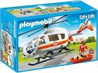 PLAYMOBIL 6686 City Life Big Hospital Rescue Helicopter    NEW / SEALED