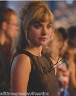 IMOGEN POOTS SIGNED AUTHENTIC 8X10 PHOTO w/COA B SEXY ACTRESS NEED FOR SPEED