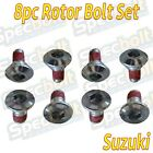 8PC. ROTOR BOLTS SUZUKI RM-Z250 RM-Z450 FRONT REAR DISC BRAKE BOLT SET RM-Z 250