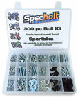 Honda Street Sport Bike Bolt & Fastener Set Fairing Windscreen Engine Frame Body