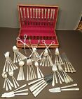 William Rogers Silverplate Flatware Anniversary Set and Misc Pieces NICE! 85 Pcs
