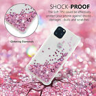 Bling Sparkle Glitter Heart Liquid Quicksand Hard Case For iPhone 8 6s 7 Plus X