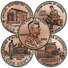 Complete Set Lincoln 2009 Cent Penny PD Mint 8 Coins Uncirculated