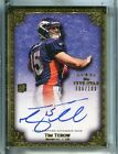 TIM TEBOW 2010 Five Star Rookie Card Auto 6 100 From High End Five Star Box
