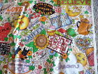 Mary Engelbreit Fabric multi color; Home Sweet Home phrase in pattern; 148