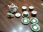 VTG.Roehler  Childrens 12 Piece Christmas Tea Set  Collection Germany