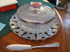 HAMMERED ALUMINUM TOP WITH GLASS SERVICE BOWL WITH SIDE KNIFE