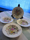 LOT OF 4 Garden Bouquet Johnson Brothers Windsor Ware Soup BOWLS