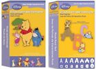 2 Cricut Disney Cartridges Pooh and Friends + Pooh Font Set Brand New