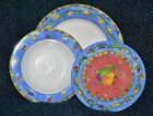 SANGO china SANGRIA # 3075,( 4 )pc.1,Soup,2 Salad,1 Dinner) BLUES,Sue Zipkin