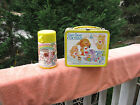 Vintage 1985 Care Bear Cousins Aladdin Metal Lunch Box  Thermos