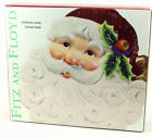 Vintage Fitz & Floyd Christmas Santa Collector Canape Dessert Plate • New in Box
