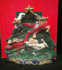 Fitz and Floyd 1997 Angel Christmas Tree Canape Plate Dish in Box