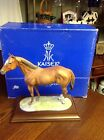 Vintage Kaiser Horse on Plynth with Box and Authenticity
